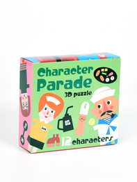 "Pussel 3D Ingela P Arrhenius ""Character parade"""