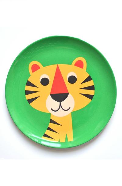 """Plate Ingela P Arrhenius """"Tiger"""""""
