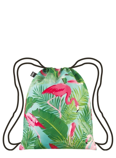 Backpack, Loqi WILD Flamingos Backpack