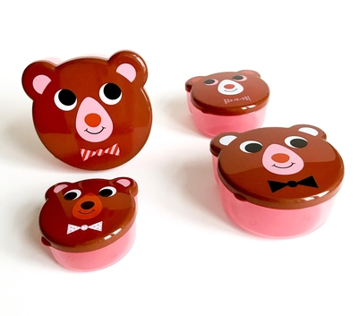 Snackbox set, Bears