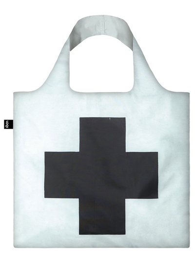 "Shoppingbag, Loqi ""KAZIMIR MALEVICH Black Cross, 1953"""