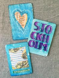 "Magnet ""Stockholm Blue"" by Annu"