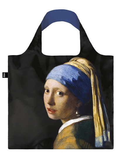 "Shoppingväska, Loqi ""VERMEER Girl with a Pearl Earring, c.1665"""