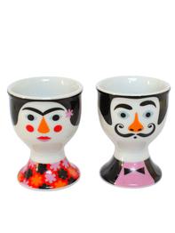 Egg cups Ingela P Arrhenius, Frida & Salvador 2st