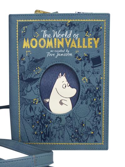 "Moomin Book Bag, ""Moomin Valley"""