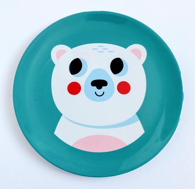 """Plate Ingela P Arrhenius """"Polar Bear"""""""