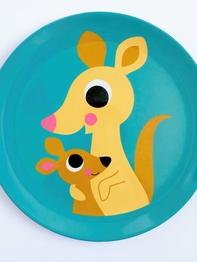 """Plate Ingela P Arrhenius """"Kangaroo"""""""