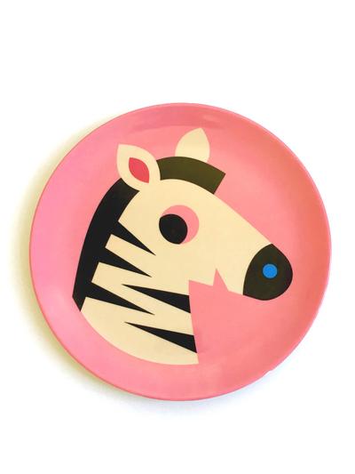 """Plate Ingela P Arrhenius """"Zebra"""""""