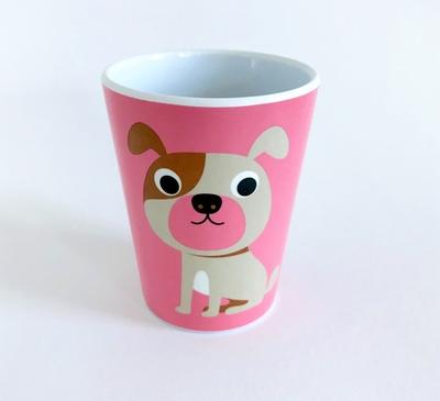"Mug Ingela P Arrhenius ""Dog on pink"""