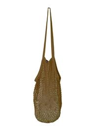 String bag, sand