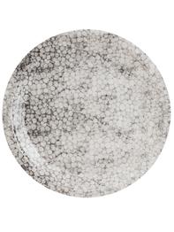 "Papperstallrik ""Grey bubbles"" 12st"