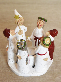 Candle holder Lucia 13 cm