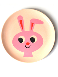 """Plate Ingela P Arrhenius """"Rabbit"""""""