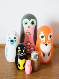 Matryoshka Animals, Big owl