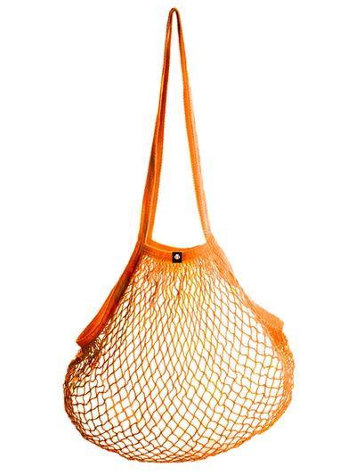 String bag, orange
