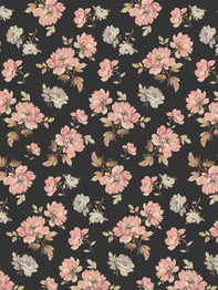 """Wrapping paper/poster """"Antique Floral"""" 49x70 cm"""