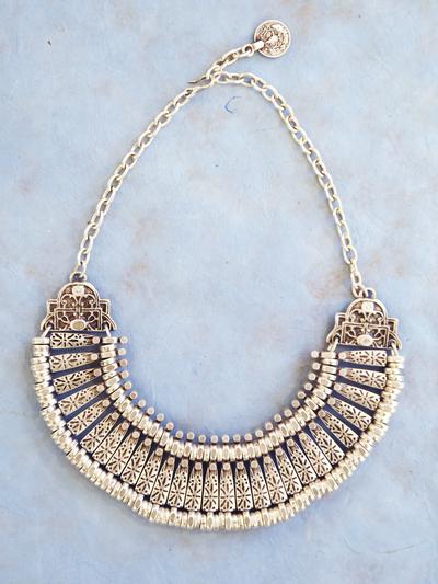 Necklace in zinc, Sultan