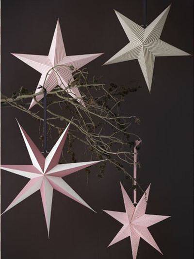 Paper star 80 cm Shadow, Black