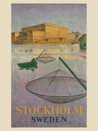 """Poster Come to Sweden """"Stockholm ström"""" 50x70 cm"""