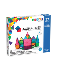 Magna-tiles, Clear colors - 32 pcs
