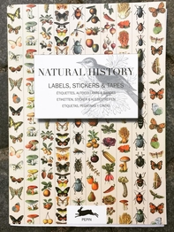 "Stickerbook ""Natural History - Labels, Stickers & Tapes"""