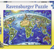 World Landmarks Map  200 XXL Bitar  Ravensburger