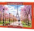 Romantic Walk in Paris 1000 Bitar Castorland