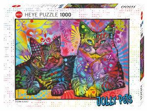 Devoted 2 Cats 1000 Bitar Heye