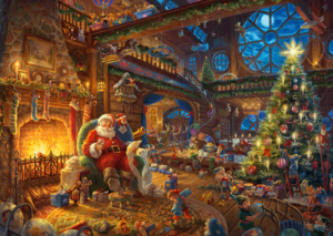 Santas Workshop 1000 Bitar Schmidt