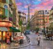Street to the Eiffel Tower 1000 Bitar Schmidt