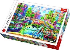 Amsterdam Canal 1500 Bitar Trefl