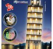 Leaning Tower of Pisa at Night 216 Bitar 3D Ravensburger