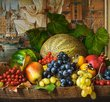 Still life with fruits 1500 Bitar Castorland