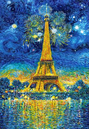 Paris Celebration 1500 Bitar Castorland
