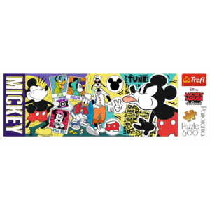 The legendary Mickey Mouse 500 Bitar Trefl