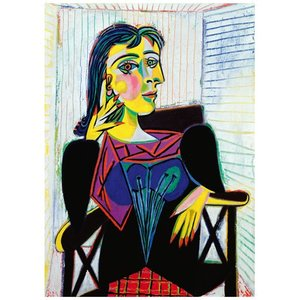 Portrait of Dora Maar 1937 , 1000 Bitar Ravensburger