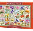 Vintage Floral 1000 Bitar Castorland