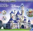 Disney Castle 216 Bitar 3D Ravensburger