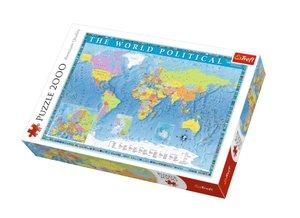 Political map of the world 2000 Bitar Trefl