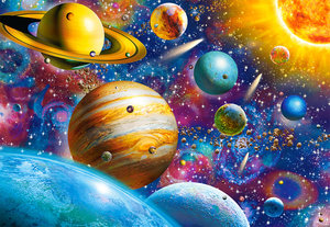 Solar System Odyssey 1000 Bitar Castorland