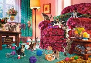 Naughty Kittens 500 Bitar Castorland