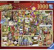 The Christmas Cupboard 1000 Bitar Ravensburger