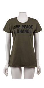 GIVE PEACE A CHANCE / MILITARYGREEN