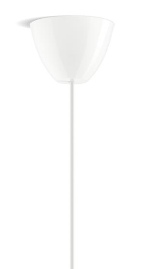 Dezall lamptops - Round vit blank