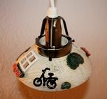 Fönsterlampa-Cykel