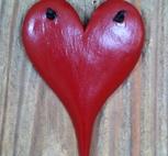 Toadörren-Rött hjärta