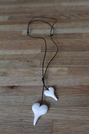 Halsband - vitt