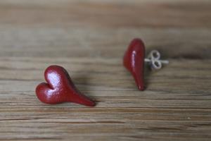 Örhänge - röda