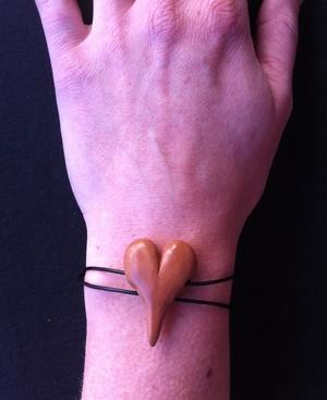 Armband - brunt