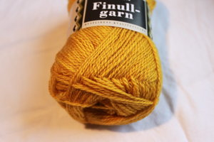 Finullgarn - Gul450